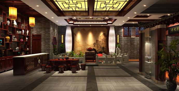 重庆茶楼装修